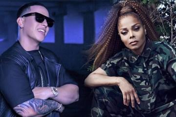 Janet Jackson y Daddy Yankee trabajan en un tema juntos. Cusica Plus.