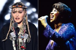 Madonna habla de ella misma en su tributo a Aretha Franklin de los VMAs. Cusica Plus.