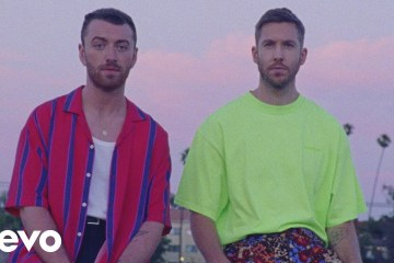 "Ve el videoclip de ""Promises"" de Calvin Harris y Sam Smith. Cusica Plus."