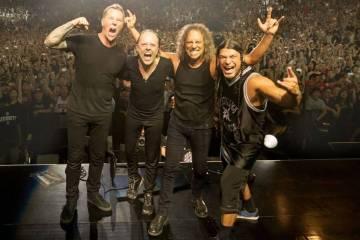 Metallica da fecha de estreno de su nuevo disco acústico. Cusica Plus.