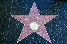 Snoop Dogg recibió su estrella en el paseo de la fama de Hollywood presentada por Dr. Dre. Cusica Plus.