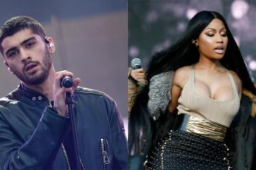 "Nicki Minaj y Zayn comparten su tema ""No Candle No Light"". Cusica Plus."