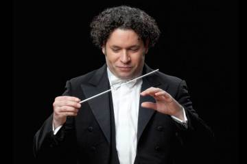 Gustavo Dudamel se le otorgó la Medalla Páez de las Artes 2018. Cusica Plus.