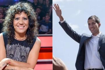 Rosana y Juan Guaidó cantaron juntos en La Guaira. Cusica Plus.