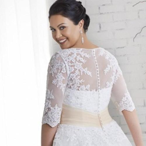 Medium Of Plus Size Vintage Wedding Dresses