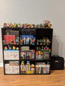 Small Of Video Game Shelf