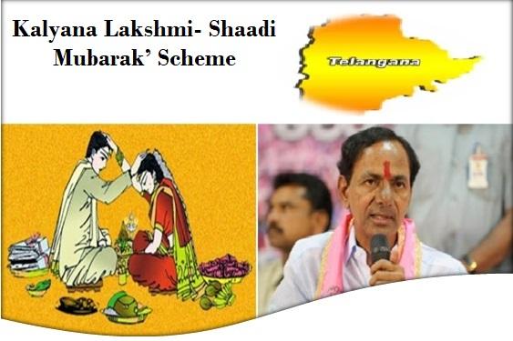 Kalyana Lakshmi- Shaadi Mubarak' scheme telangana