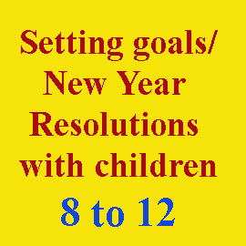 Setting goals 8 to 12