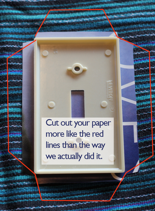 Tutorial Tuesday: DIY Light Switch Covers   Pocket Pause
