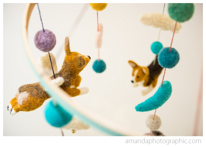 Custom mobiles by Fiber Friends - Great for baby or just us grownups