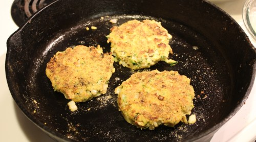 Tuna/Zucchini Patties - Recipe