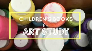 Children'sBooksforArtStudy