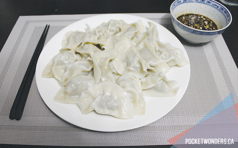 how to make dumplings - ready to eat