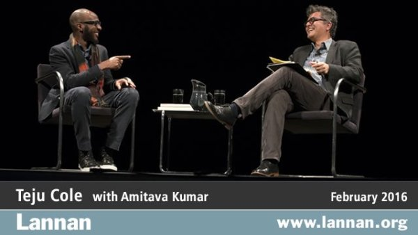 Teju Cole with Amitava Kumar, 3 February 2016
