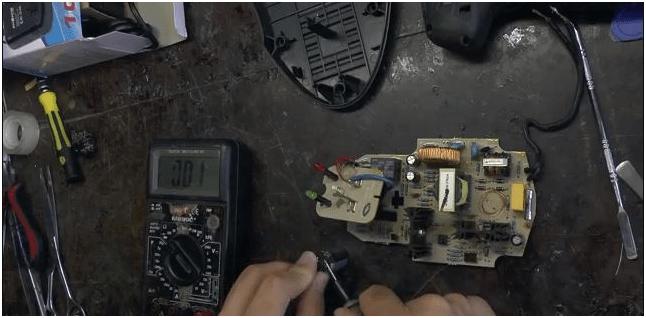 Ремонт зарядного устройства для шуруповерта. Диагностируем конденсатор