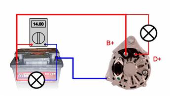 Схема подключения галогенной лампочки