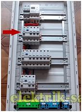 Групповое УЗО для кухни с автоматическими выключателями потребителей электроэнергии