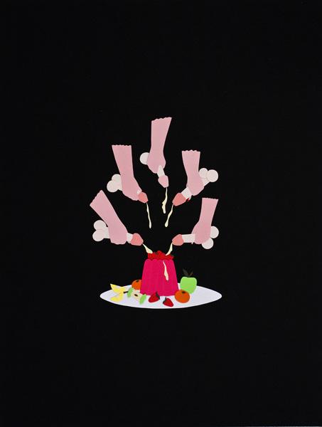 """Annie Descôteaux, """"Sans titre"""" - 22 x 30 cm, 2010"""