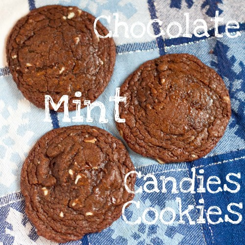 chocolate mint candies cookies