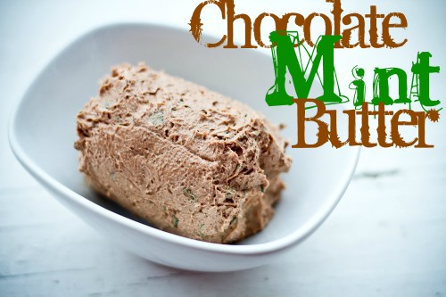 chocolate mint butter