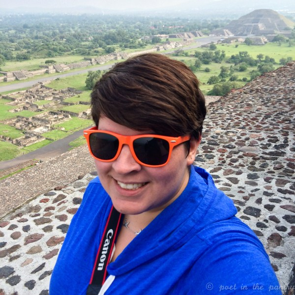 View from the Sun Pyramid at Teotihuacan