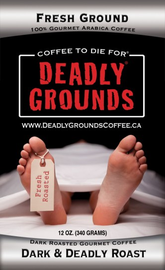 Deadly Grounds Coffee of Norwalk, Connecticut, offers coffee that's to die for!