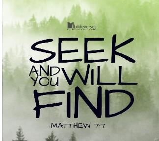 Seek First ~ CHRISTian poetry by deborah ann