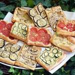 Aperitive rapide din foietaj cu legume