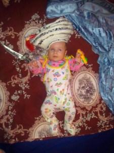 фотосессии малыша дома