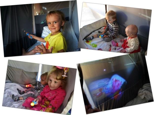 дети в поезде погодки