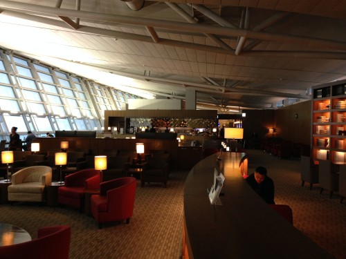 Asiana Lounge Business Class Seoul ICN09
