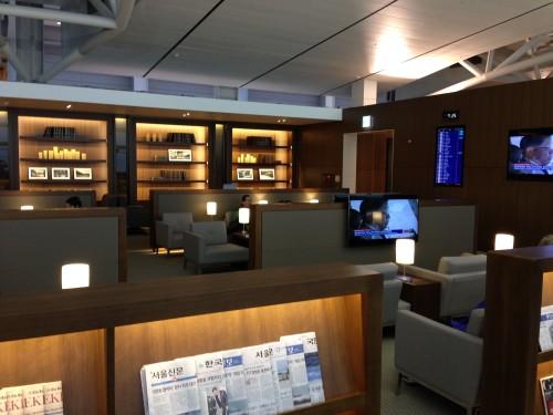 Asiana Lounge Business Class Seoul ICN41