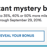 Alaska is Offering a Mystery Bonus on Miles Purchase