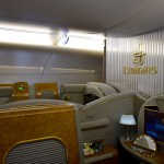 Emirates First Class A380 Cabin