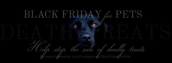 Black friday for pets walmart protest toxic treats china jerky
