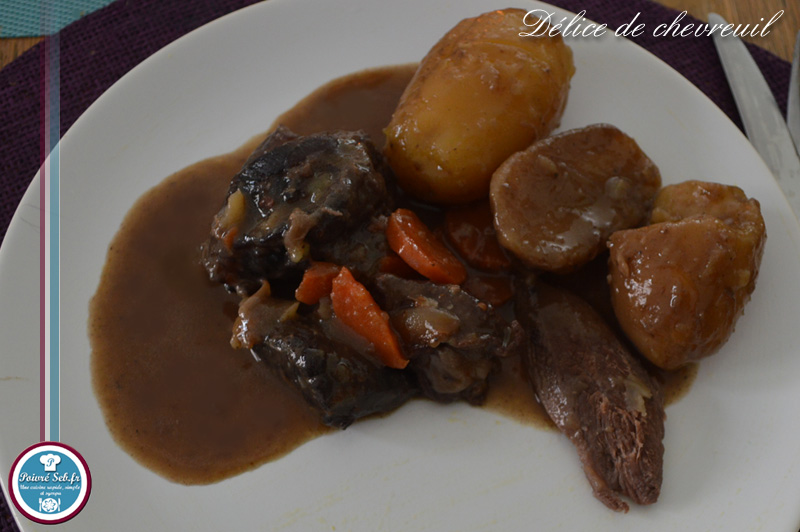 D lice de chevreuil sans marinade poivr seb - Cuisiner gigot de chevreuil ...