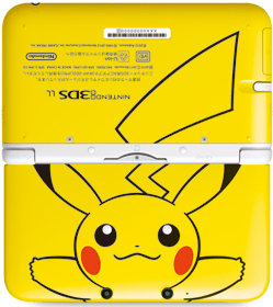 3dsllpikachu2 3DS LL Special Pikachu Edition Coming To Japan