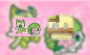 doll 300x186 Shaymin & Celebi Dream World Pokédolls