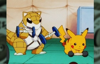Guide How Pokemon GO Gyms Work basics, Pikachu working out