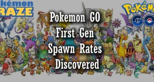Pokemon GO First Gen Spawn Rates Discovered