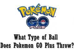 What Type of Ball does Pokemon GO Plus Throw