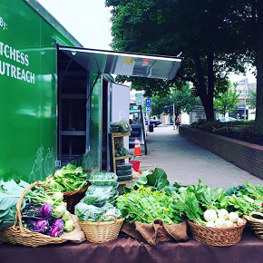 Dutchess Outreach Fresh Market Truck at Adriance