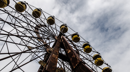 Prypeć - opuszczone miasto w czarnobylskiej strefie zamkniętej