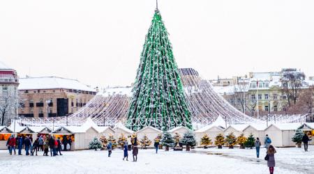 Świąteczne jarmarki bożonarodzeniowe - Wilno i Praga