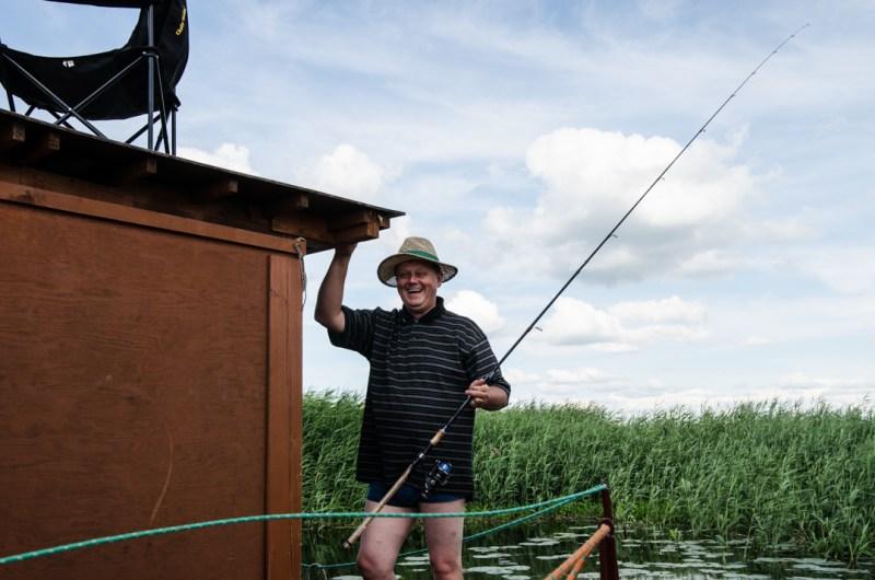 Weekend nad Biebrzą - spływ tratwą (4)