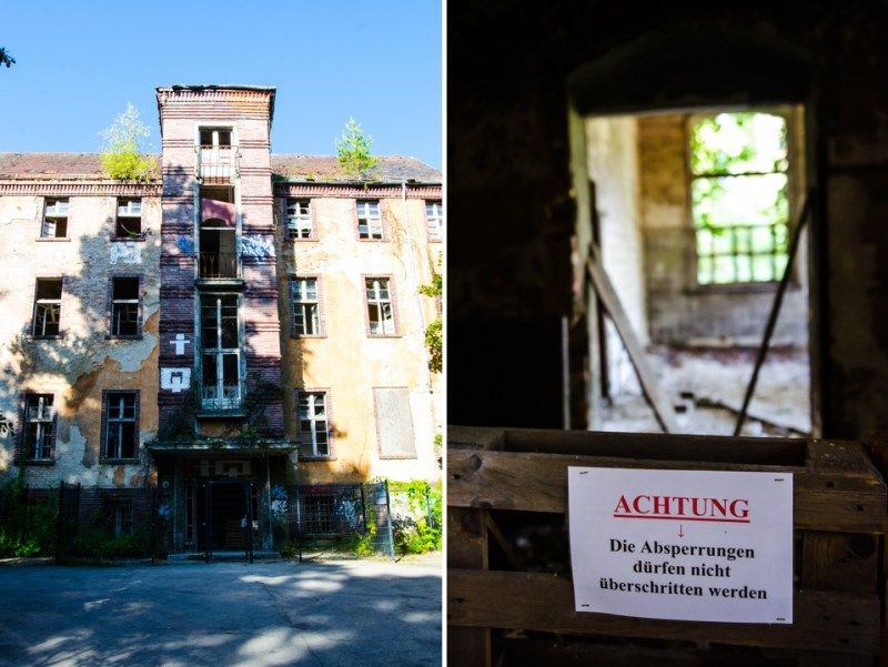 Opuszczony szpital dla chorych na gruźlicę w Beelitz (55)