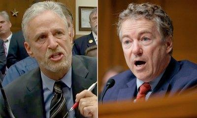 Jon Stewart Torches 'Abominable' Rand Paul For Blocking 9/11 Victim Compensation Fund