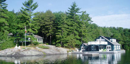 You aren't middle class if you own a cottage. Remember that.