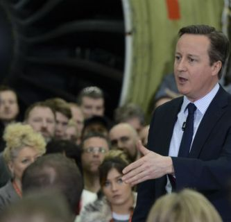 David Cameron, premier do Reino Unido, quer manter o país na UE, mas enfrenta oposição dentro do Partido Conservador. Foto: Georgina Coupe/ The Prime Minister's Office