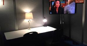 Dressing Room at tonight's debate.